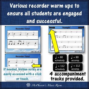 Soprano Recorder - Trampin' (Notes BAG)