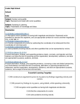 Trampoline Park Field Trip Lesson Plan (Sky Zone) HIGH SCHOOL