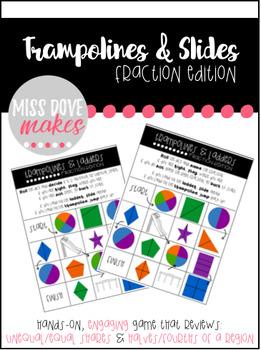 Trampolines & Slides: Fraction Edition