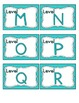 Tranquil Turquoise Leveled Reader Labels