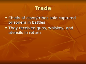 Trans-Atlantic Slave Trade - West African Slavery
