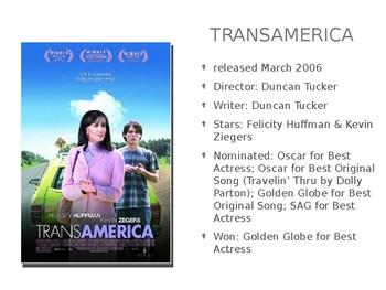 Transamerica Film Discussion Questions PPT