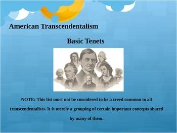 Transcendentalism: Background Powerpoint