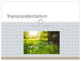 Transcendentalism Beliefs and Ideas PowerPoint
