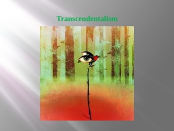 Transcendentalism: Essential Journal Questions