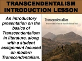 Transcendentalism Introduction Lesson