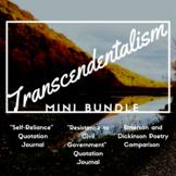 Transcendentalism Mini Bundle