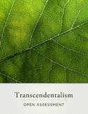 Transcendentalism Open Assessment