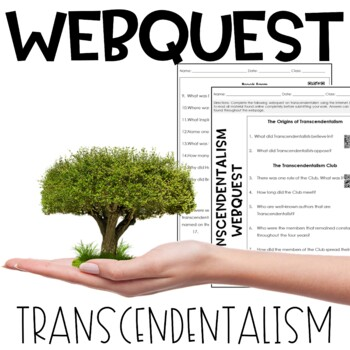 Transcendentalism WebQuest WITH ANSWER KEY!