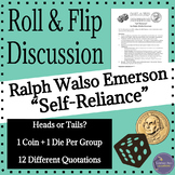 Emerson's Self Reliance Transcendentalism Group Discussion Activity