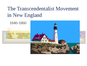 Transcendentalism in New England PowerPoint Presentation