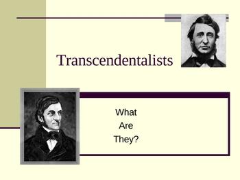 Transcendentalist Powerpoint