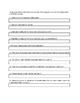 Transcendentalist Worksheet