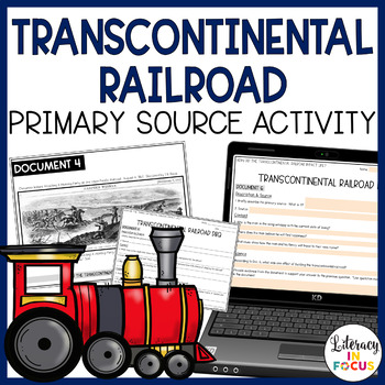 Transcontinental Railroad Discovery Stations and DBQ (Prim
