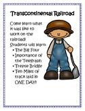 Transcontinental Railroad Lapbook