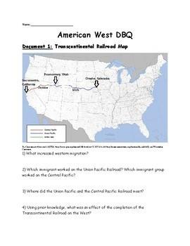 American West DBQ (Westward Expansion)