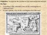 Transcontinental Railroad PowerPoint Presentation