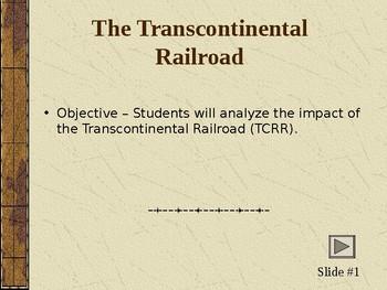 Transcontinental Railroad Powerpoint