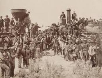 Transcontinental Railroad Worksheet