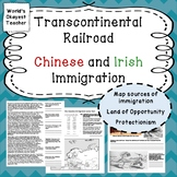 Transcontinental Railroad and Chinese and Irish Immigration