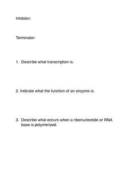 Transcription Common Core Activities