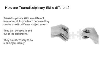 Transdisciplinary Skills Student Slides