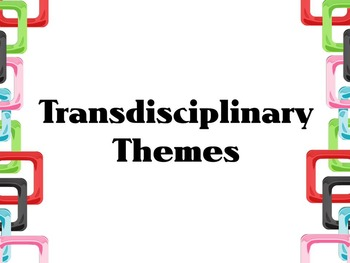 Transdisciplinary Theme- Art, Colored Squares IB PYP