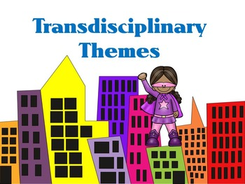 Transdisciplinary Theme- Super Hero IB PYP
