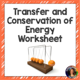 Transfer / Conservation of Energy Worksheet