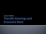 Transfer Earnings / Economic Rent - PPTs for a difficult A