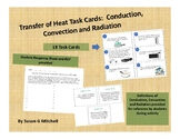 Transfer of Heat Task Cards:  Conduction, Convection or Ra