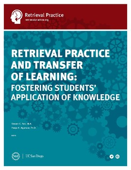Transfer of Learning Guide