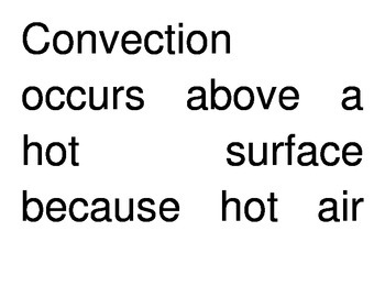Transfer of Thermal Energy Through Convection