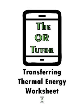 Transferring Thermal Energy Worksheet