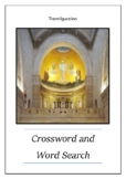 Transfiguration - Crossword and Word Search Mini-Lesson Bell Ringer