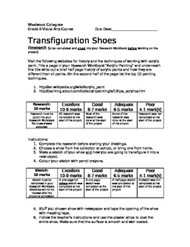Transfiguration Shoes