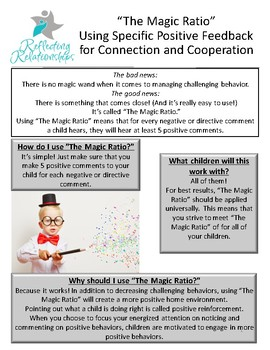 Transform Your Child's Behavior Using the Magic Ratio