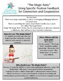 Transform Your Child's Behavior Using the Magic Ratio