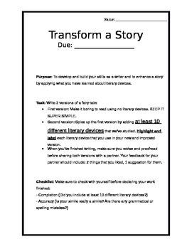 Transform a Story