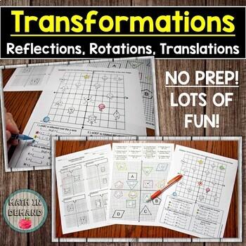 Transformation Activity (Capture the Dots!)