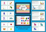 Transformation Activity Cards - 20 with worked solutions