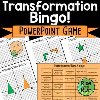 Transformation Bingo! Game