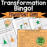 Transformations Practice Bingo Game