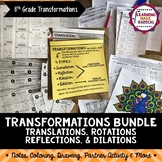 Transformation Bundle (Translations, Reflections, Rotations & Dilations)