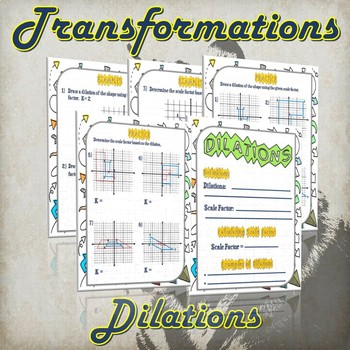Transformation Dilation - (Guided Notes and Practice)
