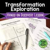 Transformations Discovery Lesson with Tracing Paper or Cut Outs