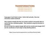 Transformation Foldable