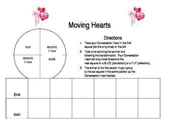 "Transformation Game:  ""Moving Hearts"""