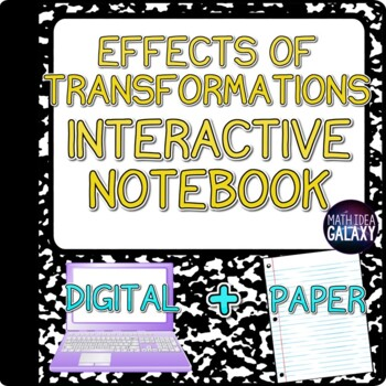 Transformations Interactive Notebook
