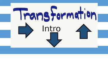 Transformation Introduction